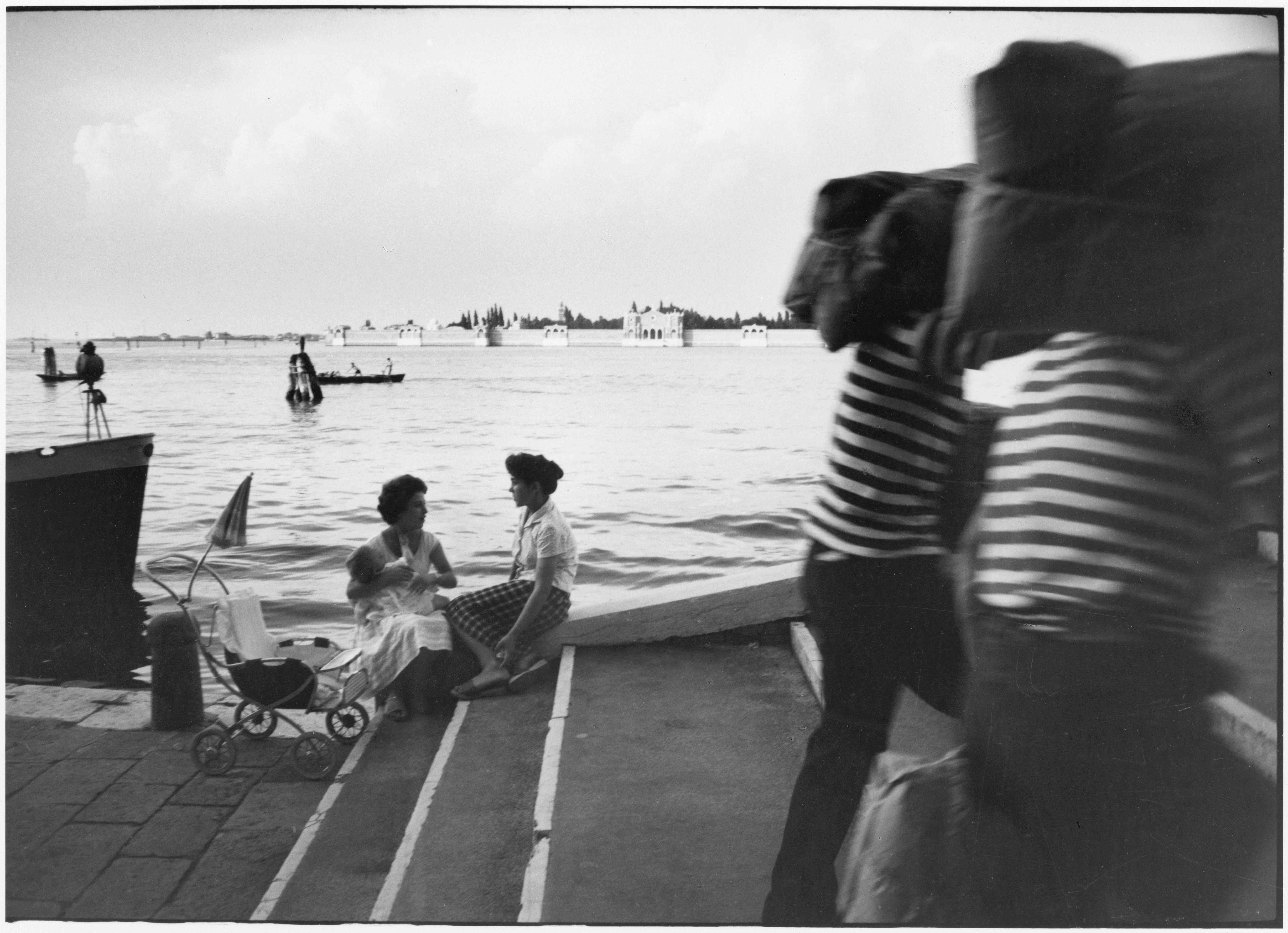 Willy Ronis Fondamente Nuove Venise 1959